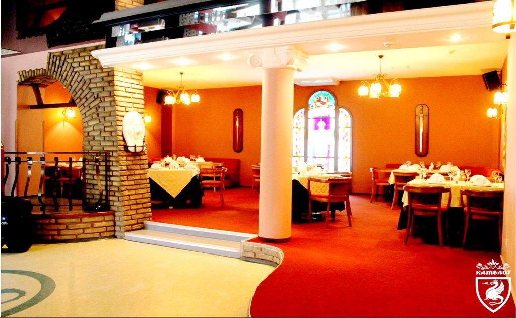 Ресторан 'Камелот' - основной зал