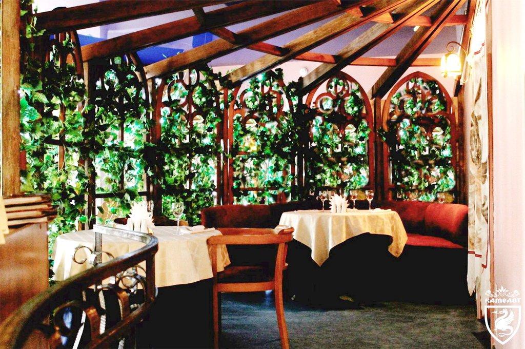 Ресторан 'Камелот' - беседка