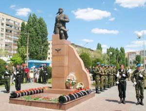 Памятник Герою Советского Союза А.П.Маресьеву
