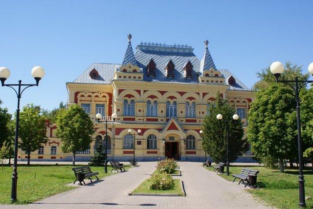 Здание Камышинского историко-краеведческого музея